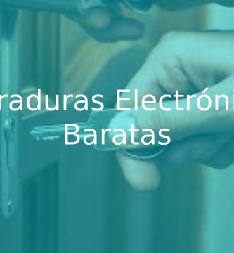 mejores cerraduras electrónicas baratas