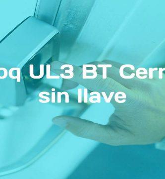 reseña de Ultraloq UL3 BT Cerradura sin llave